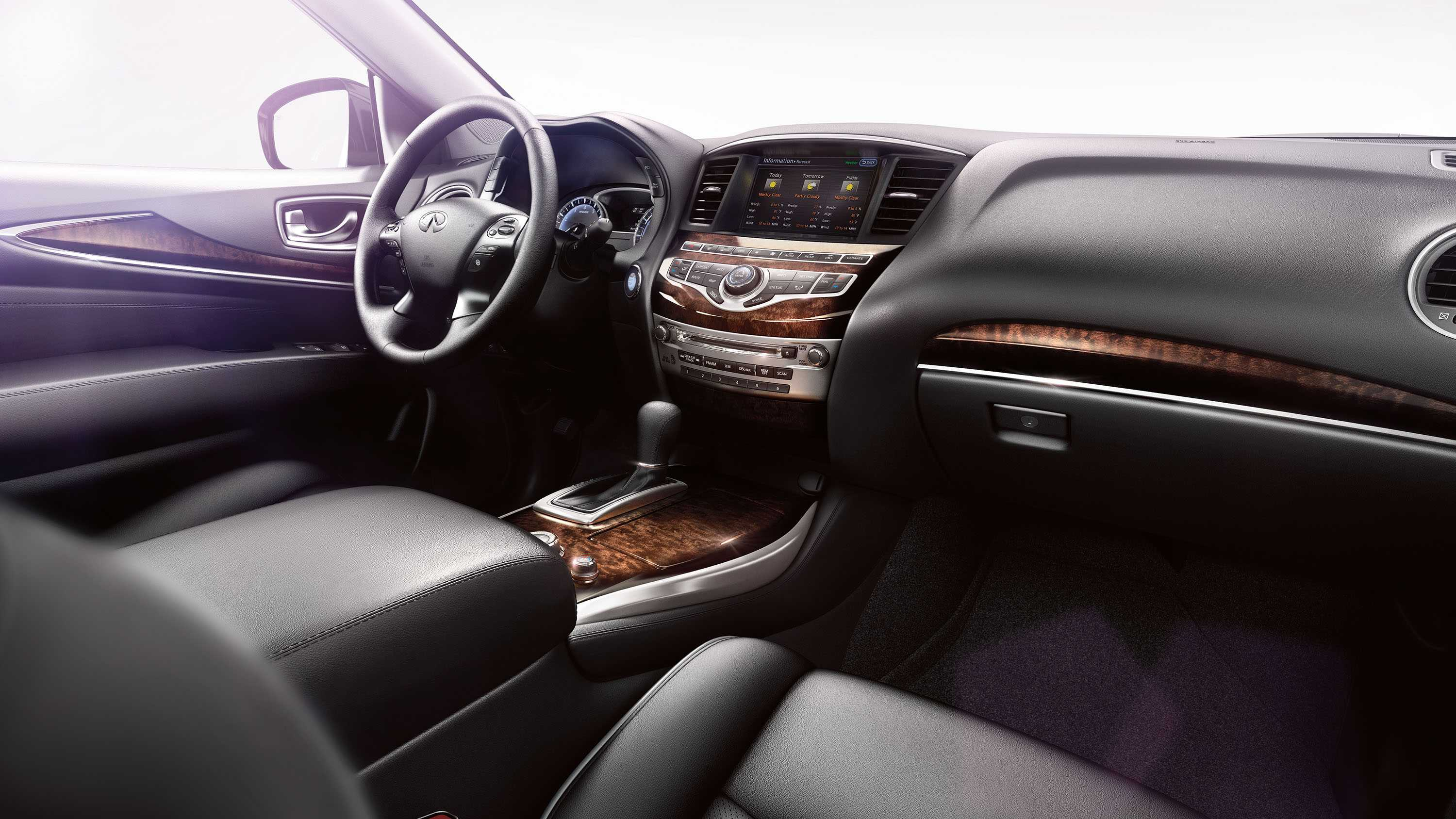 comfort interior rows and infinity seating infiniti overview luxurious side three crossover suv of pin