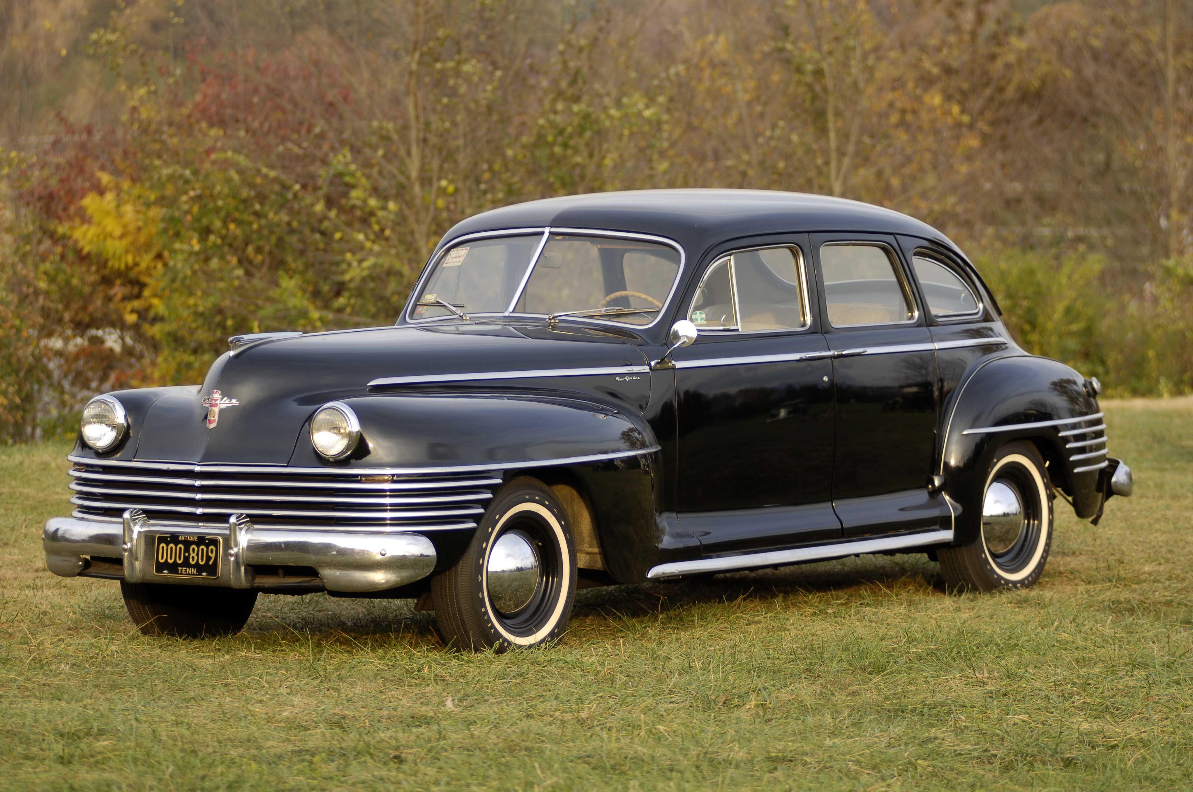 Chrysler New Yorker 4 Door Sedan 1942 Convertible
