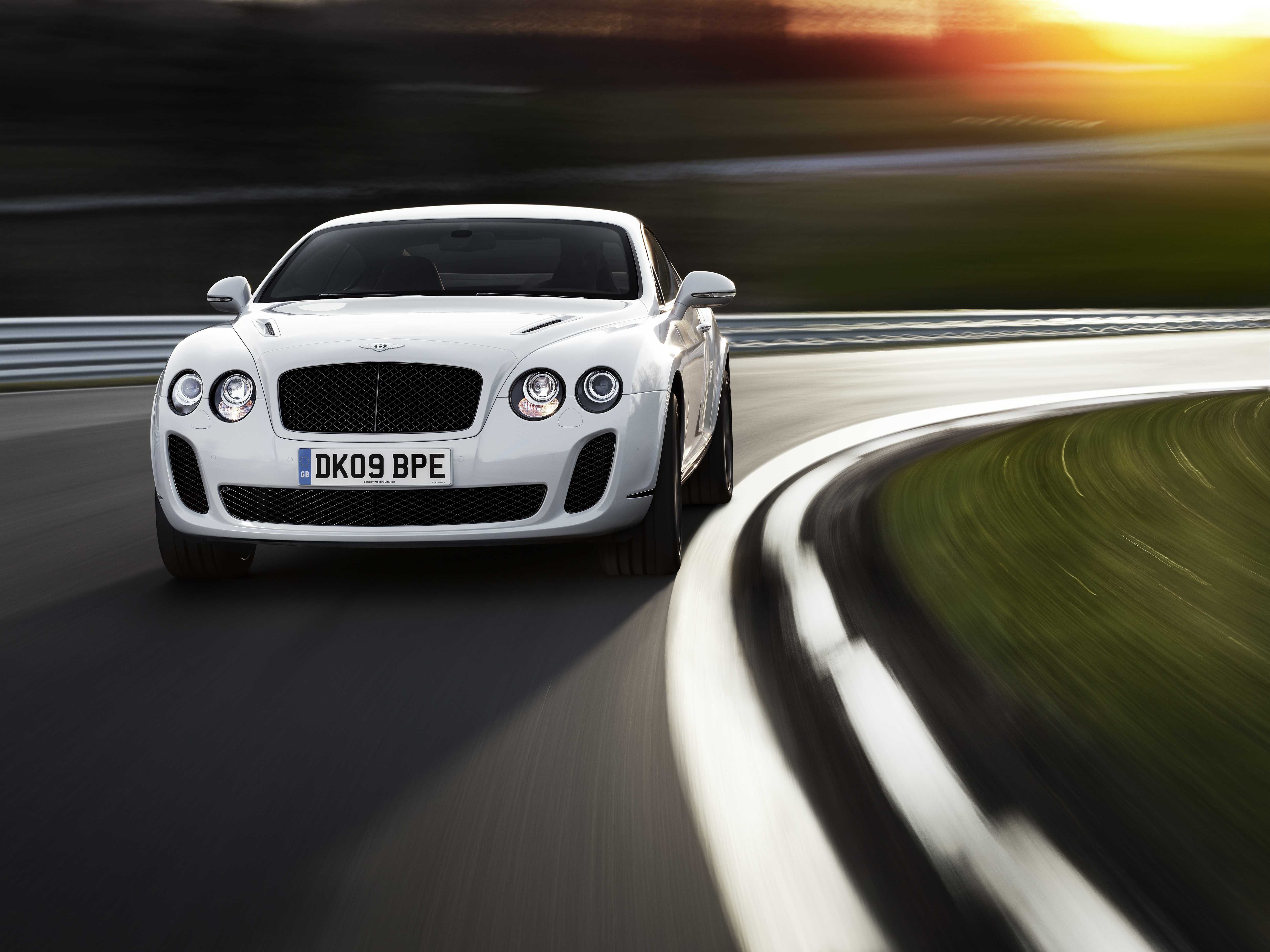 se front bentley continental supersports gt en convertible