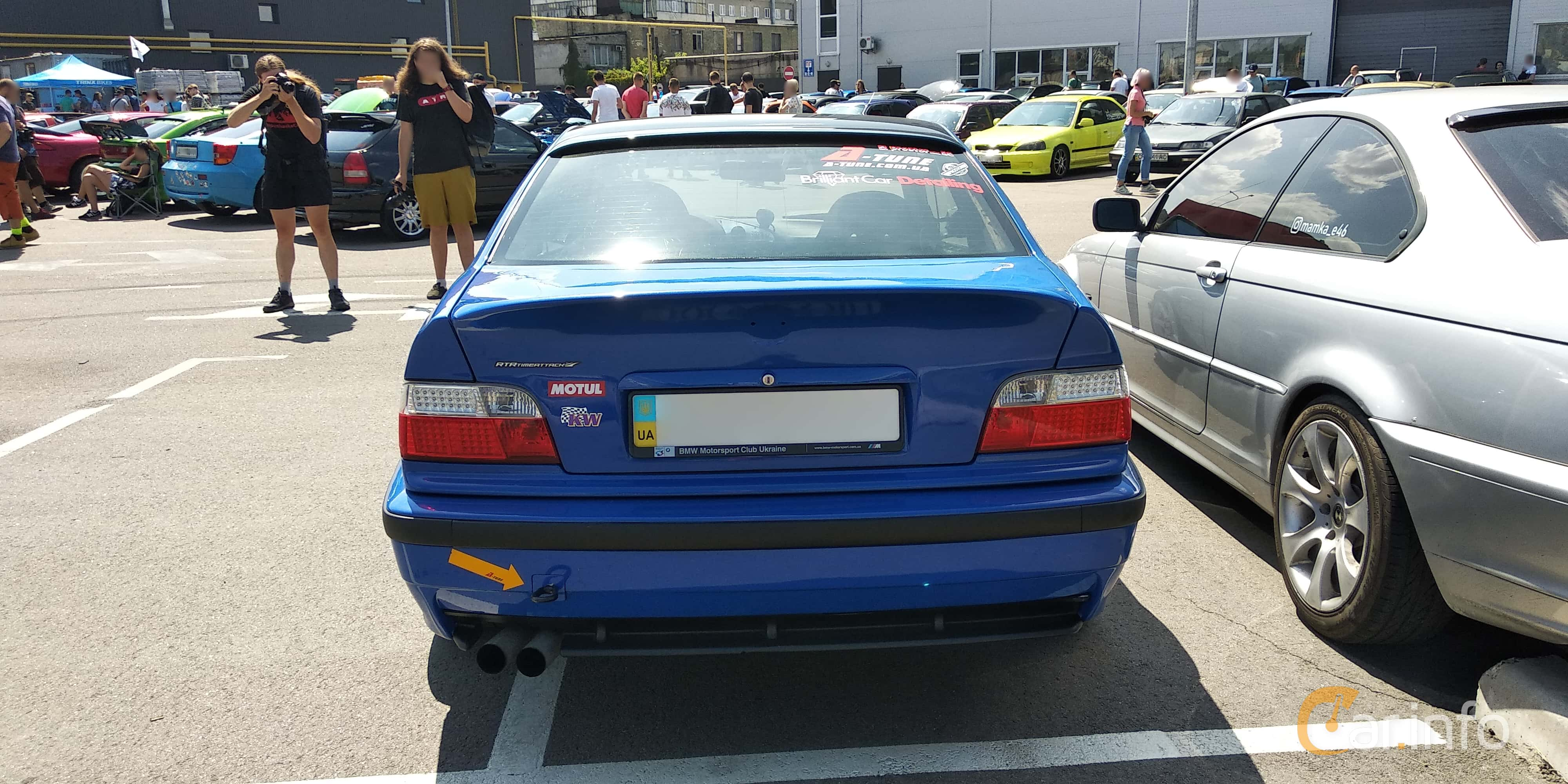 Back Side Of Bmw 3 Series Coupe 1992 At Car Gathering Jdm 2019