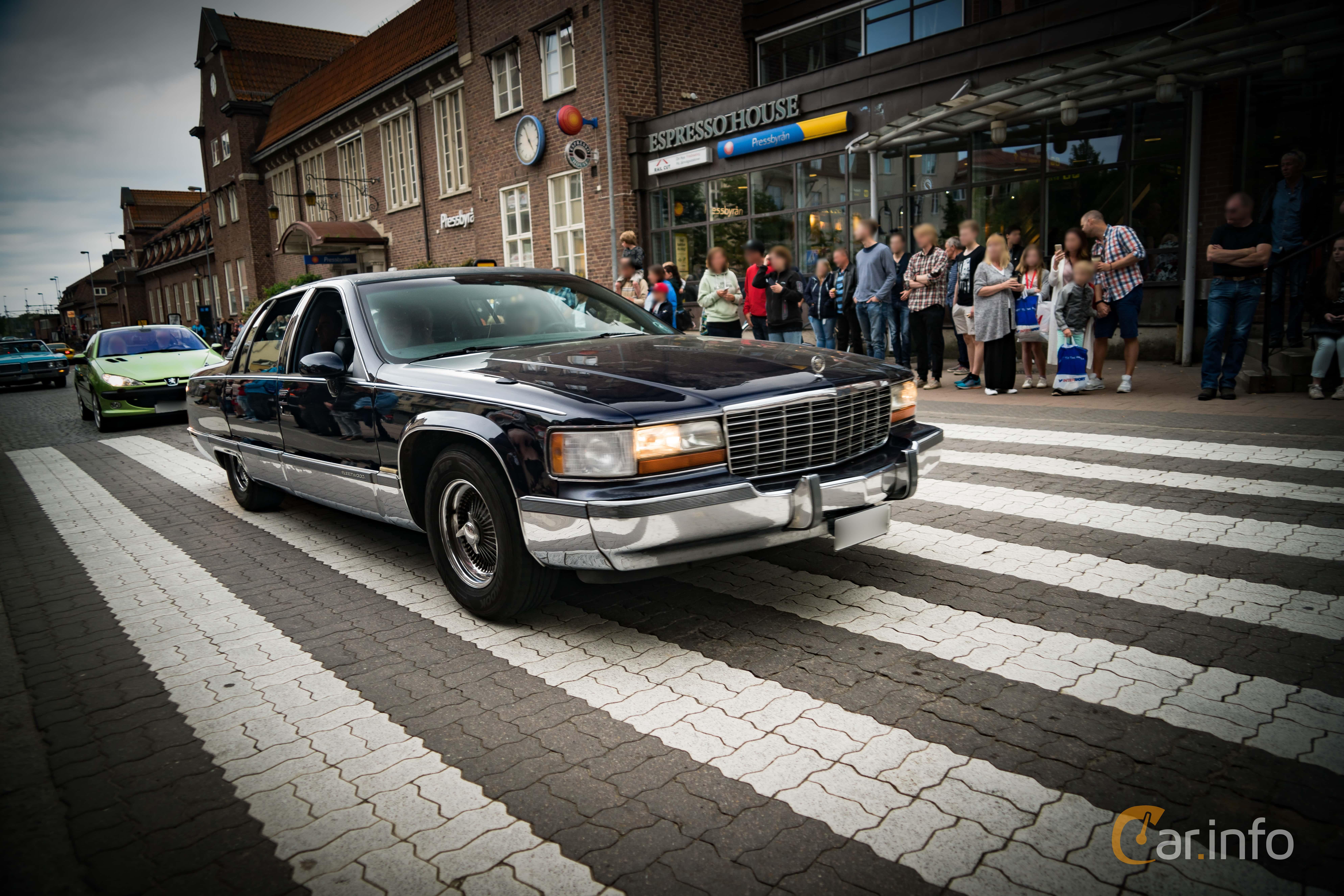 Cadillac Fleetwood 5 7 264 Hp