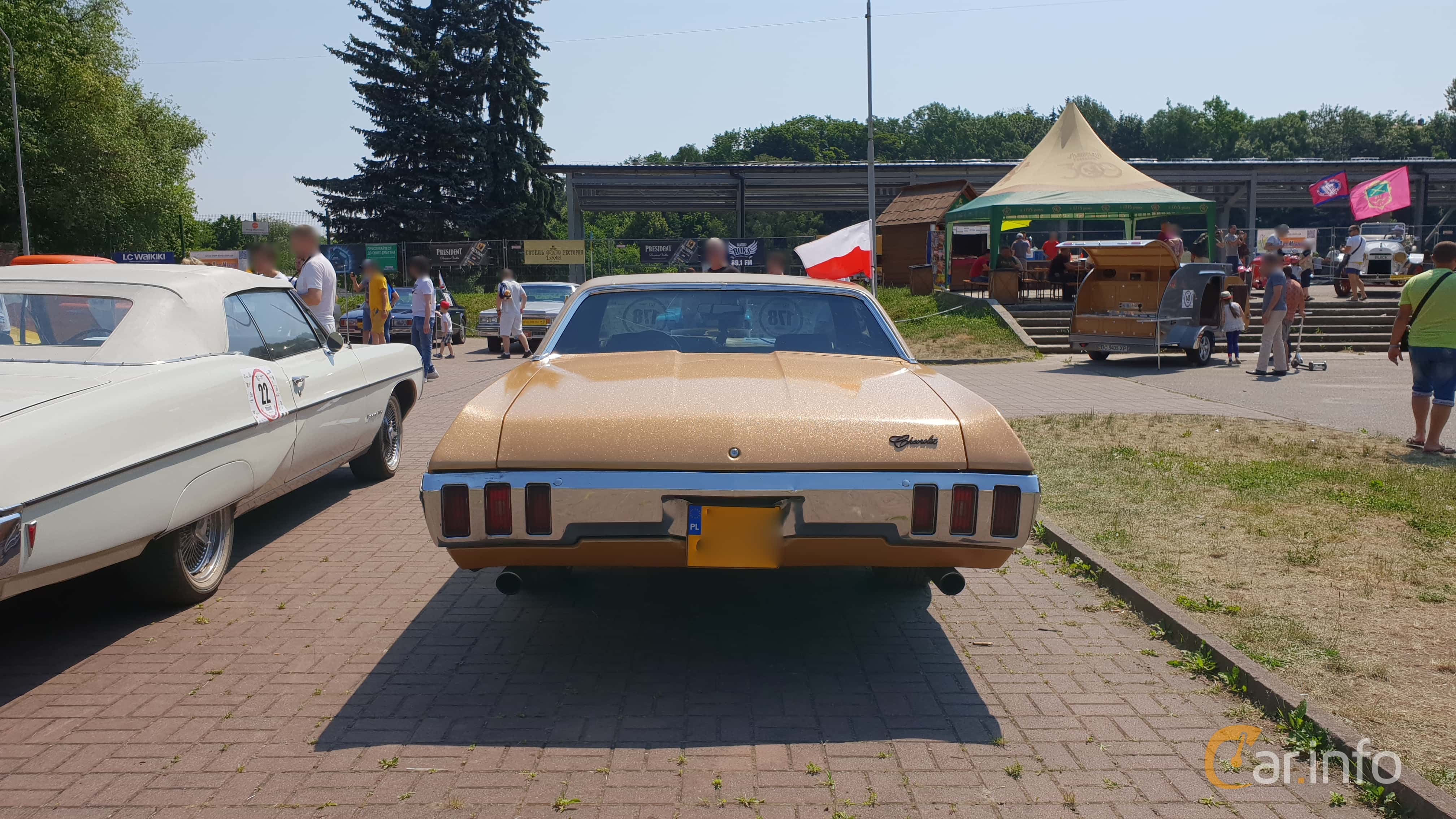 10 images of Chevrolet Caprice Sport Coupé 5 7 V8 253hp, 1970 by