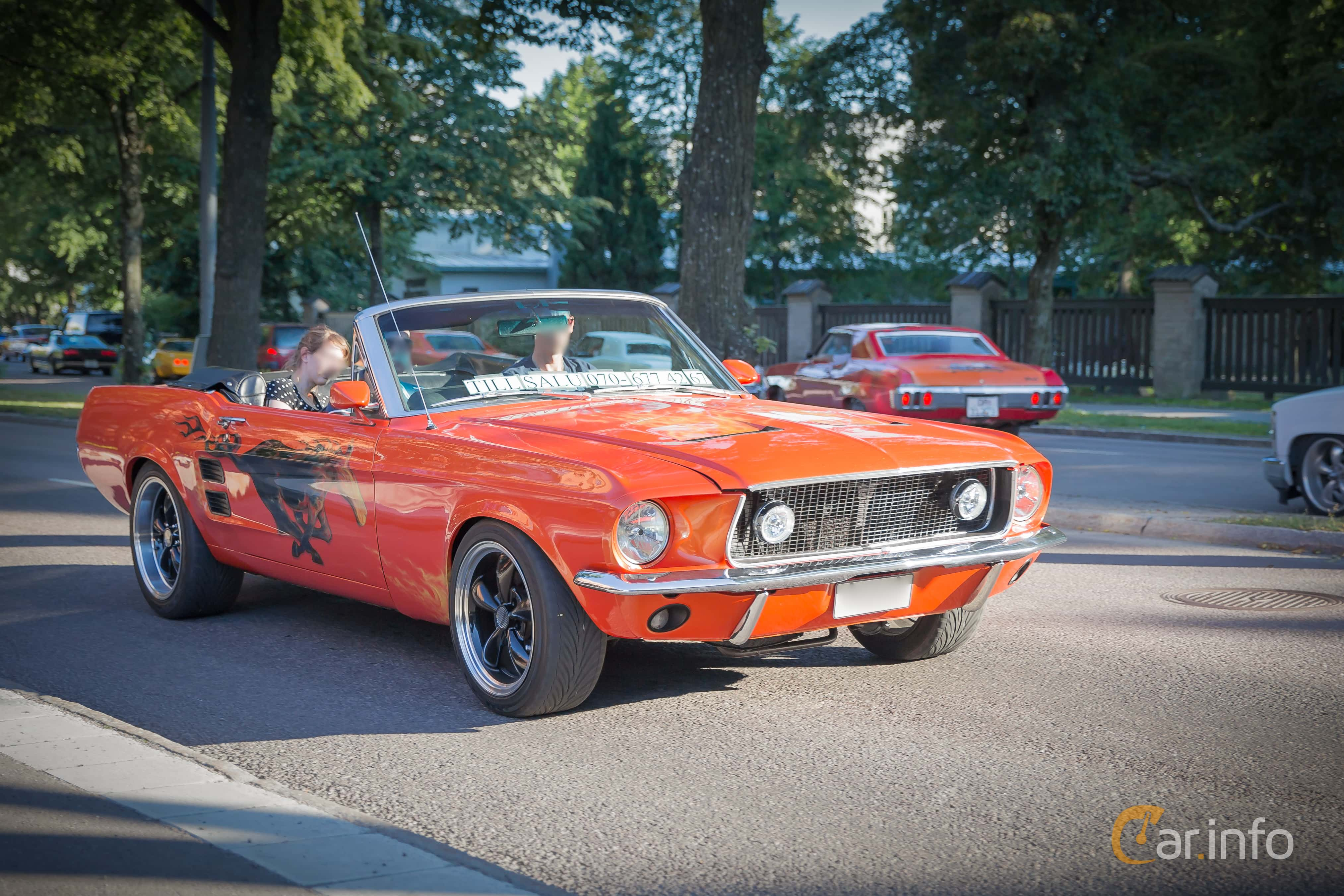 Ford mustang convertible 4 7 v8 184hp 1967 by marcusliedholm