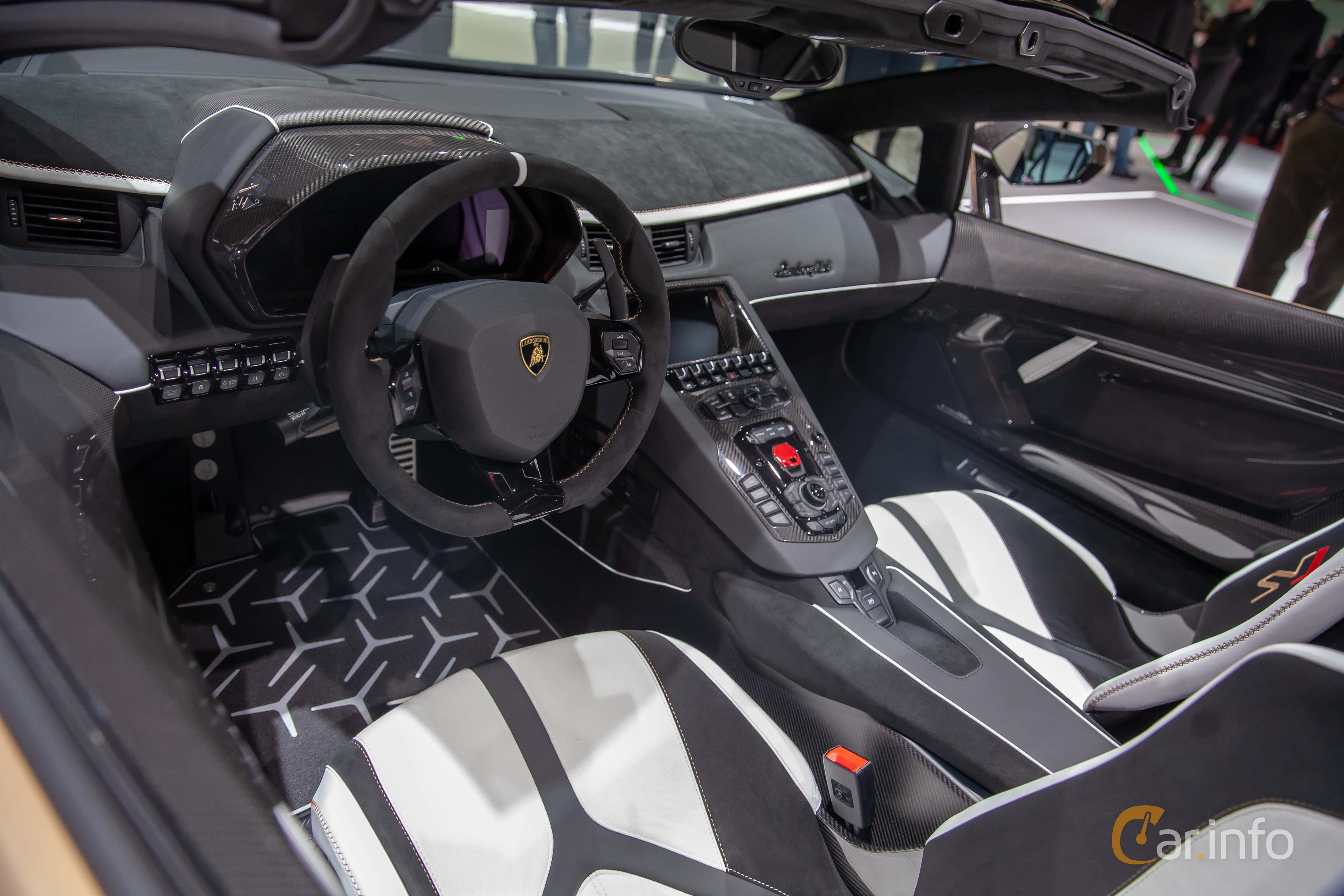 12 Images Of Lamborghini Aventador Svj Roadster 6 5 V12 Isr 770hp
