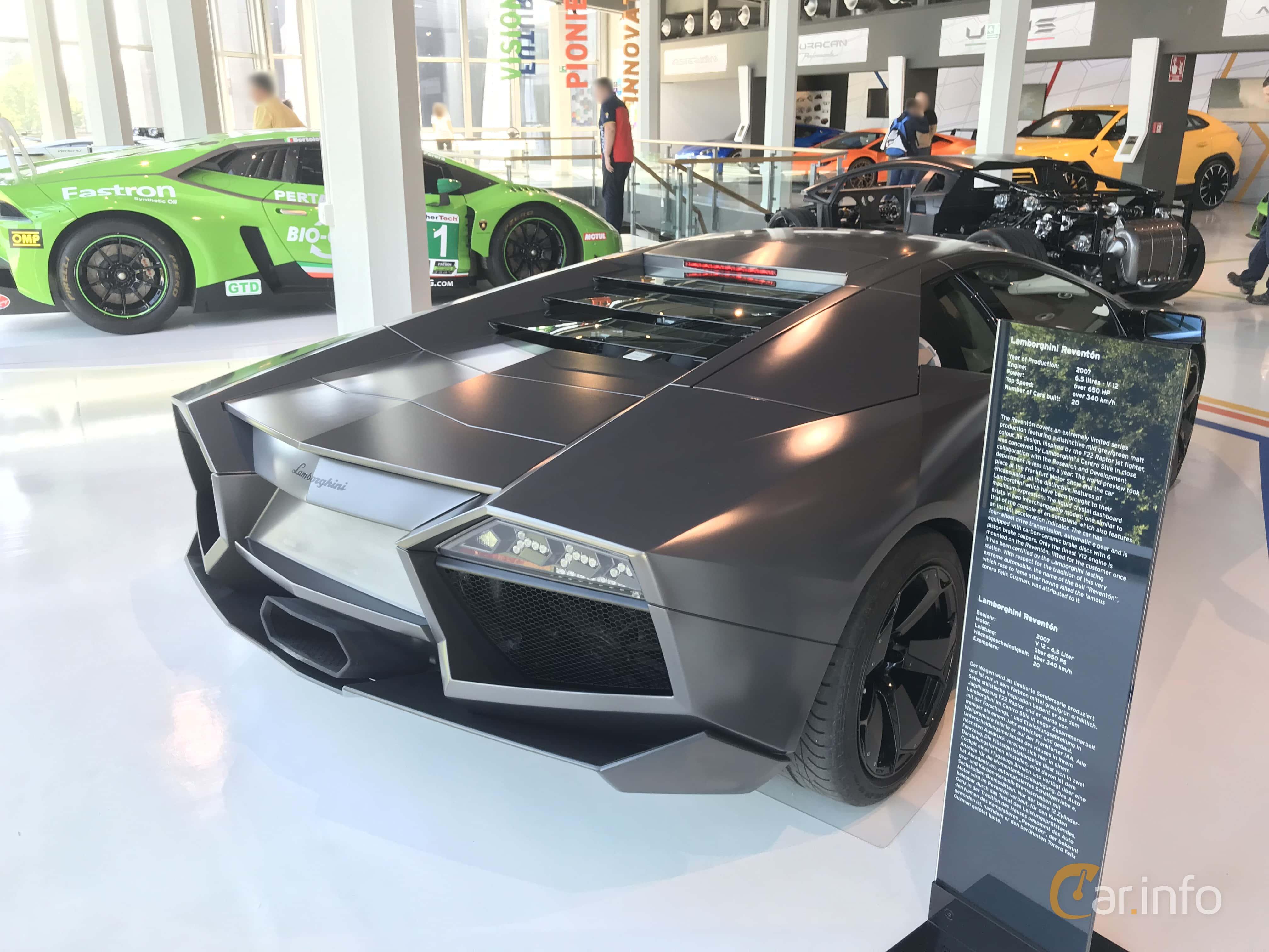 13 Images Of Lamborghini Reventon 6 5 V12 E Gear 650hp 2008 By