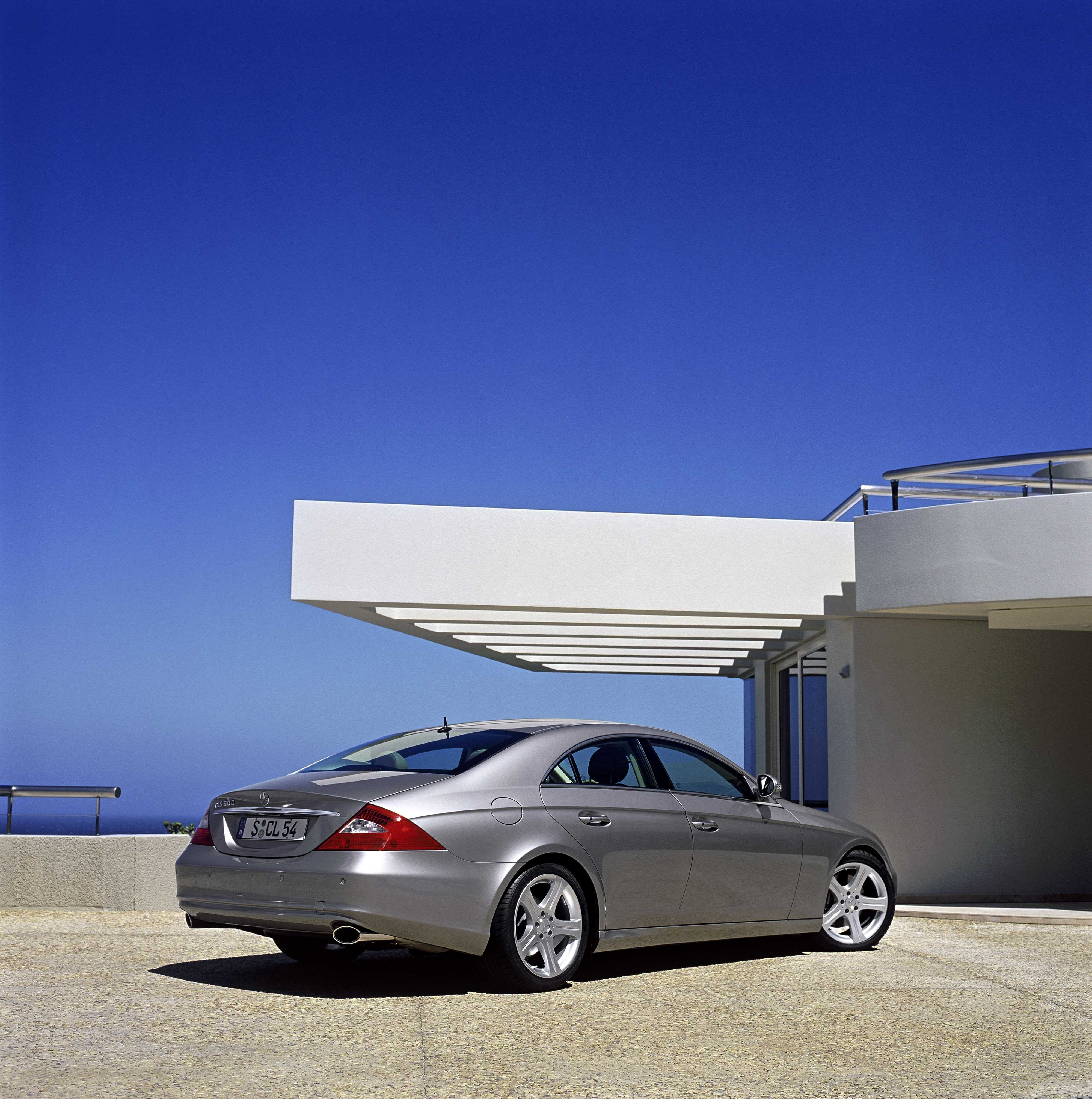 2005 mercedes cls500 review