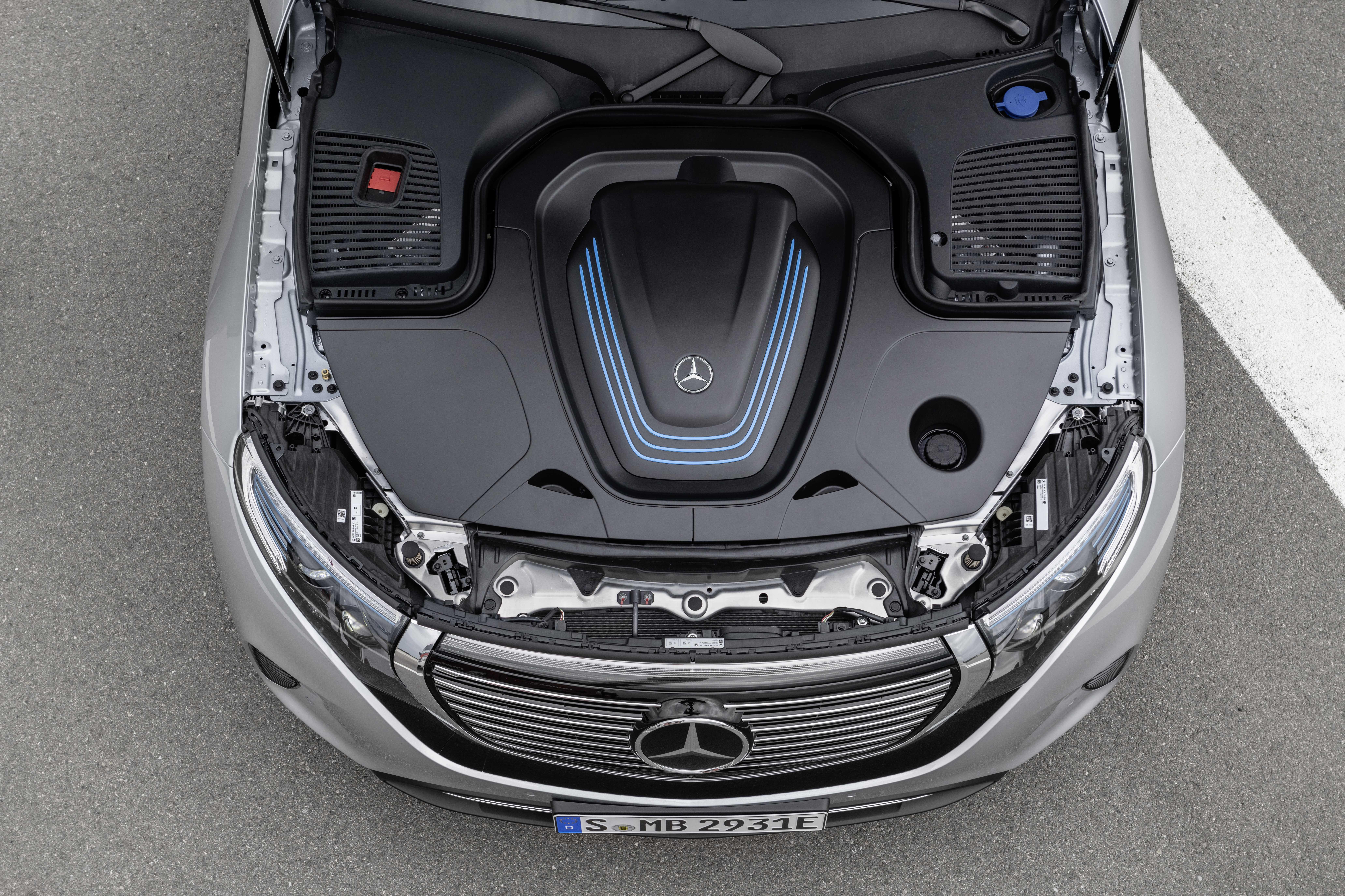 Mercedes-Benz EQC 400 Single Speed, 408hp, 2019