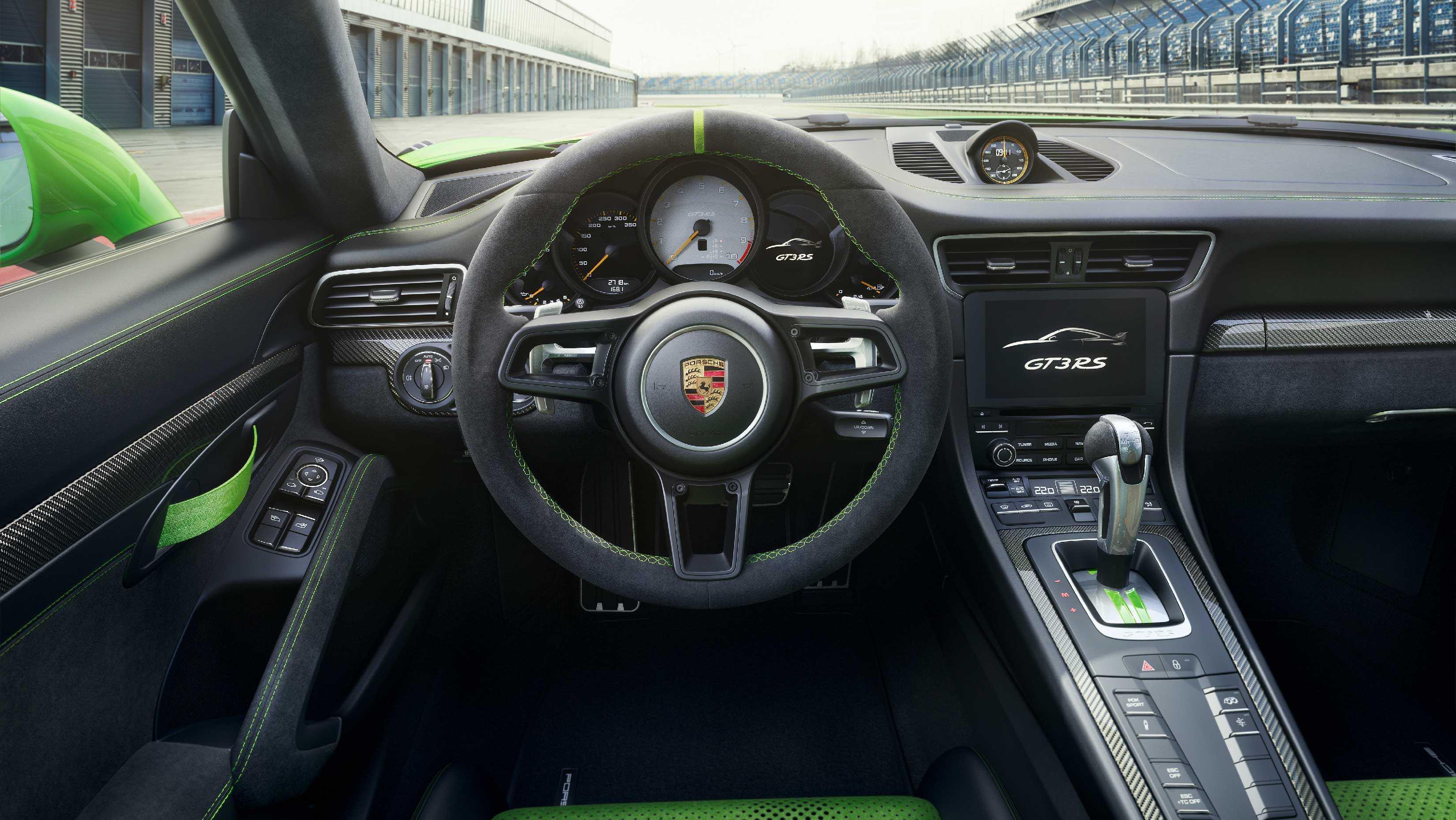 porsche 911 interior 0