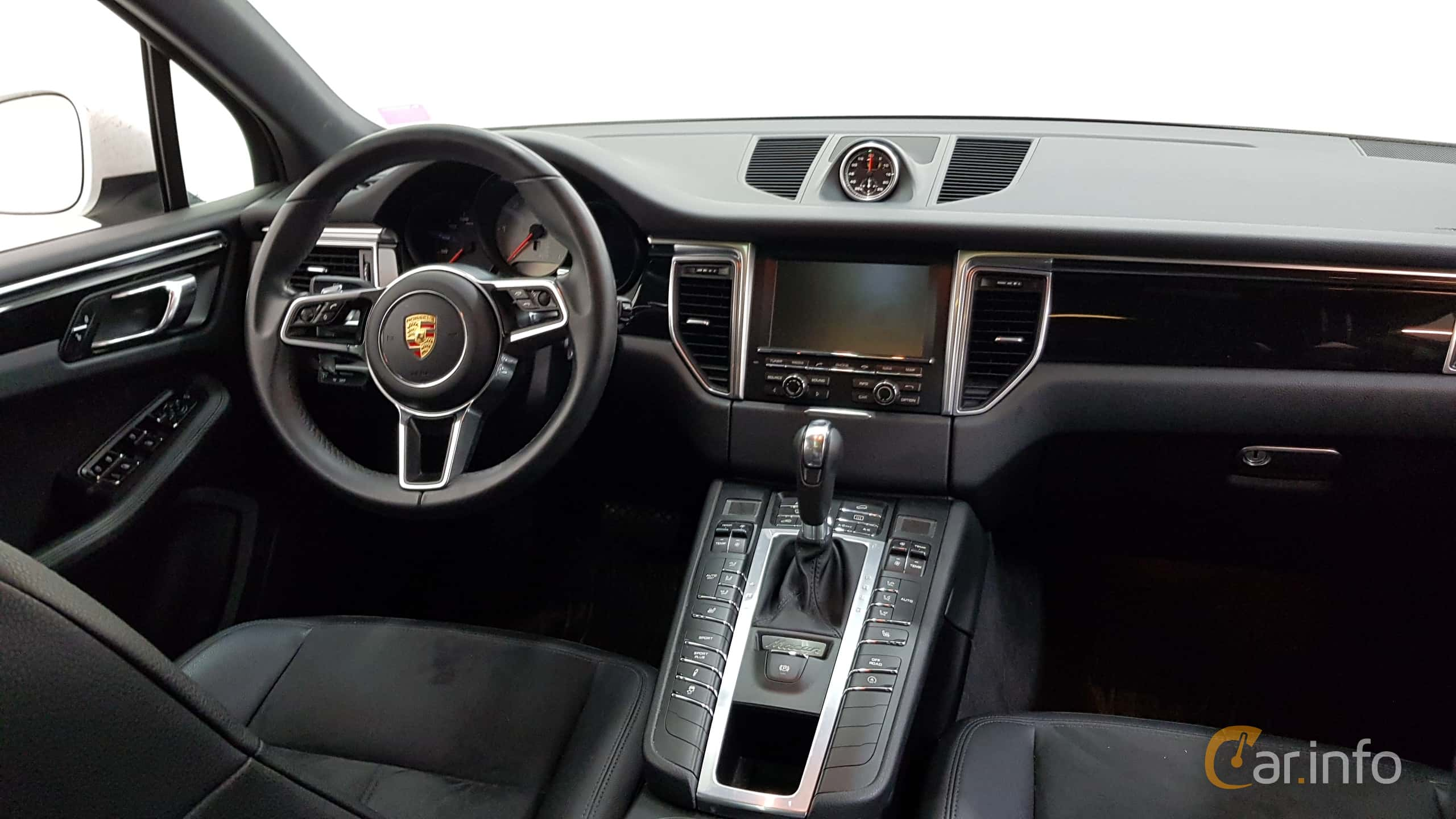 White Porsche S.car.info/image_files/full/porsche Macan Interior. ...