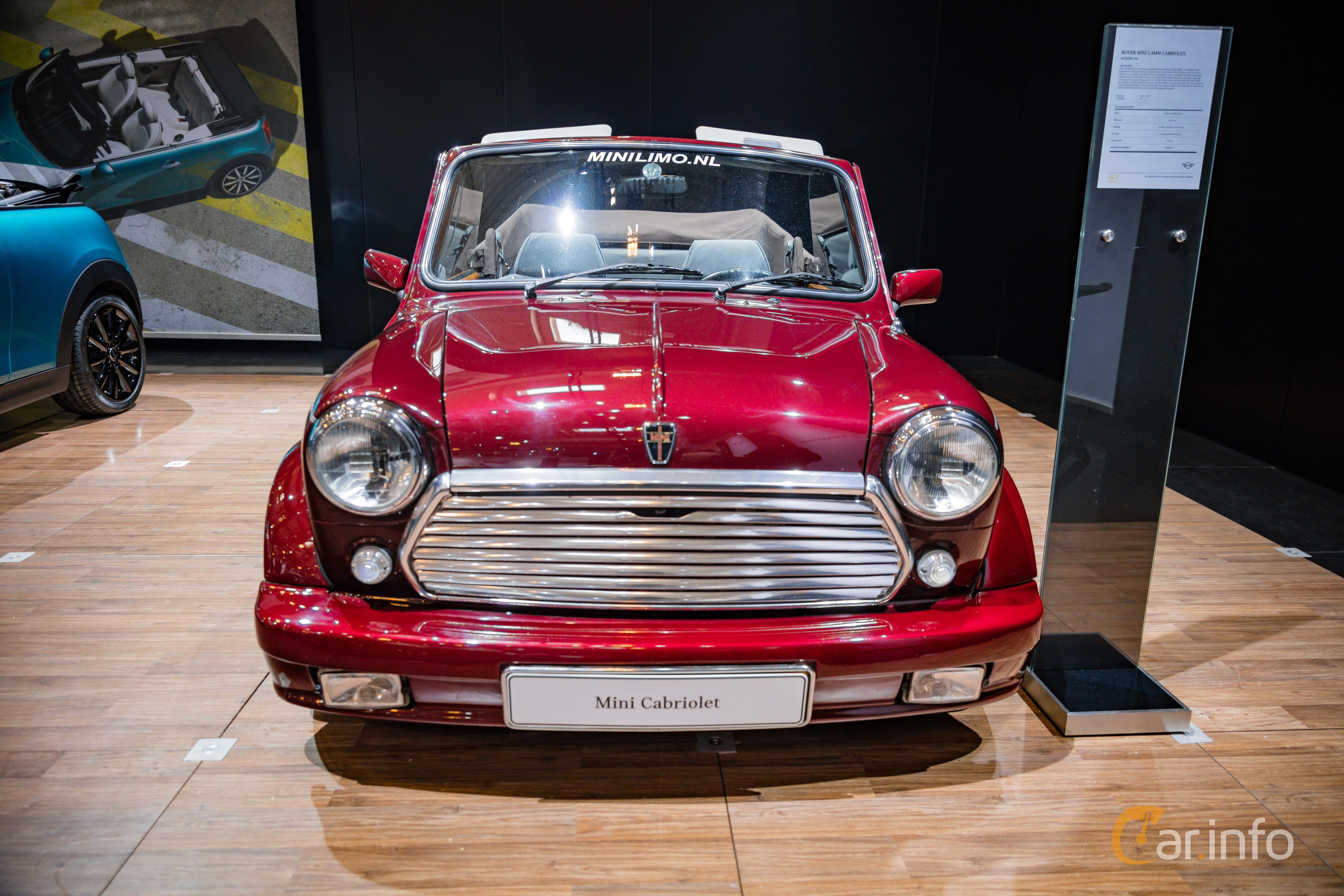 5 Images Of Rover Mini 1300 Cabriolet 13 Manual 63hp 1992 By